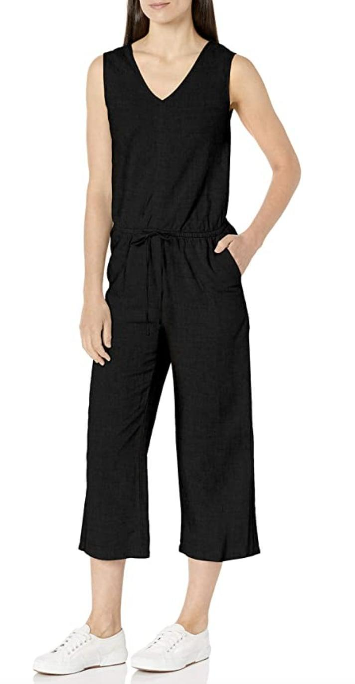 <p>This <span>Amazon Essentials Sleeveless Linen Jumpsuit</span> ($36) was made with three key factors in mind: comfort, fit, and silhouette. You'll look effortless as you slip into it for lazy weekends or quick errands in the neighborhood.</p>