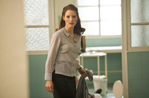 """<p><b>""""The Debt""""</b><br>While Jessica Chastain is up for best supporting actress for """"The Help,"""" she was relatively unknown only a year ago. This terrific young actress had a major role in """"The Debt,"""" playing the younger version of Oscar winner Helen Mirren's Mossad operative. The ensemble spy thriller, which also features a buff Sam Worthington, opened on Labor Day weekend in the US and was quickly forgotten. In one of the most harrowing scenes, Chastain, as a young Mossad agent, knee-clamps a Nazi war-criminal gynecologist and stabs him in the neck with a hypodermic needle. It's every bit as horrific as the famous dental chair scene with Dustin Hoffman and Laurence Olivier in """"Marathon Man.""""</p>"""