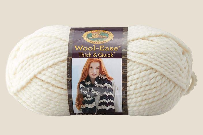 Lion Brand Yarn Wool-Ease Thick & Quick Yarn