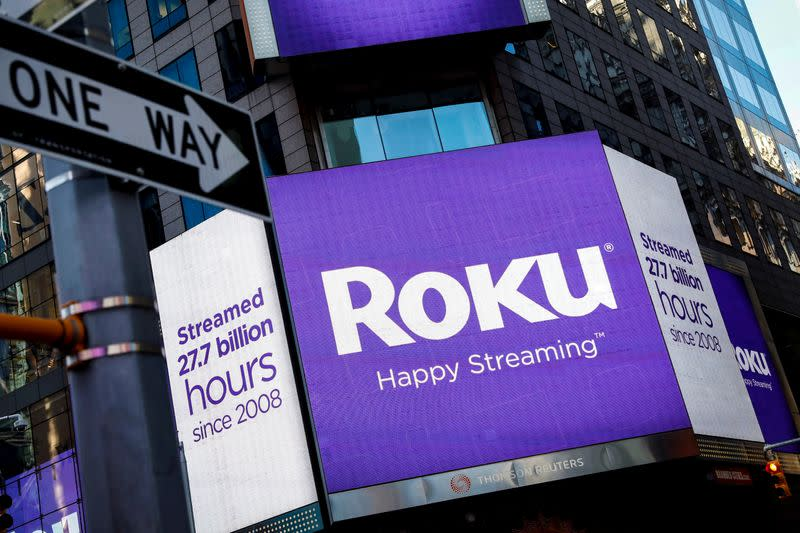 Roku gains after swelling accounts fuel revenue beat