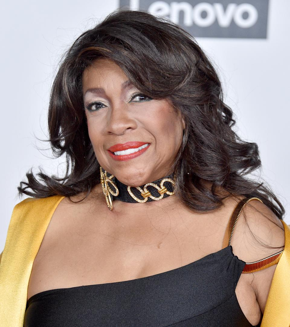 Mary Wilson attends the Universal Music Group Hosts 2020 Grammy After Party on January 26, 2020