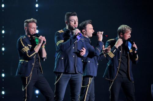 It wasn't just Westlife who was singing at the concert as fans knew almost all songs by heart and easily sang along loudly.