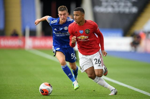 Mason Greenwood's performances for Manchester United have been recognised by England