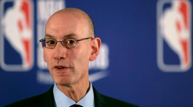 "<p>NEW YORK (AP) — The NBA is establishing a confidential hotline for league and team employees to report concerns about misconduct in their workplace. The move comes after a Sports Illustrated report that described a hostile environment for women in the Dallas Mavericks organization.</p><p>Commissioner Adam Silver sent a memo to teams Thursday detailing plans for the hotline and asking them to review their respect in the workplace policies. The memo states that ""respect and integrity are core NBA values, and we all must work to ensure that they are reflected in the culture and workplaces of our organizations.""</p><p>The memo, obtained by The Associated Press and other organizations, asks teams to complete their review of their policies by March 6.</p><p>The hotline will allow employees to report concerns ""including but not limited to sexual harassment, illegality, or other misconduct.""</p><p>The <a href=""https://www.si.com/nba/2018/02/20/dallas-mavericks-sexual-misconduct-investigation-mark-cuban-response"" rel=""nofollow noopener"" target=""_blank"" data-ylk=""slk:SI story this week"" class=""link rapid-noclick-resp"">SI story this week</a> detailed allegations of inappropriate sexual conduct by former team president Terdema Ussery, and said team website reporter Earl Sneed was twice accused of domestic assault while working for the Mavericks.</p>"