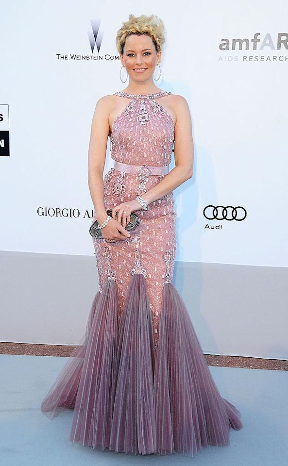 "Unfortunately, Elizabeth Banks ruined her embellished Atelier Versace halter gown by pairing it with hideous braided updo. Francois Durand/<a href=""http://www.gettyimages.com/"" target=""new"">GettyImages.com</a> - May 20, 2010"