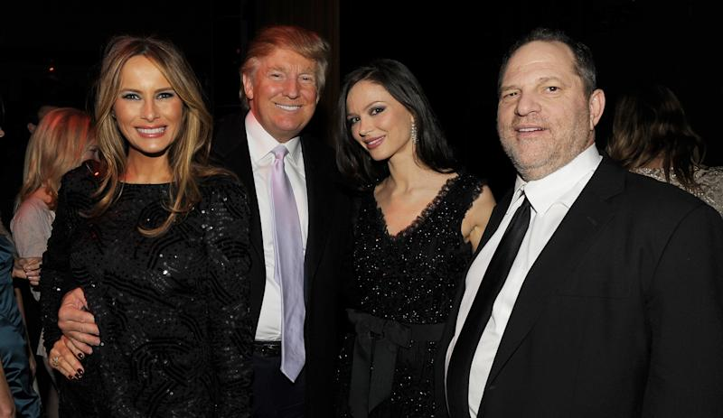 Donald Trump and Harvey Weinstein both face accusations of sexual assault from multiple women.