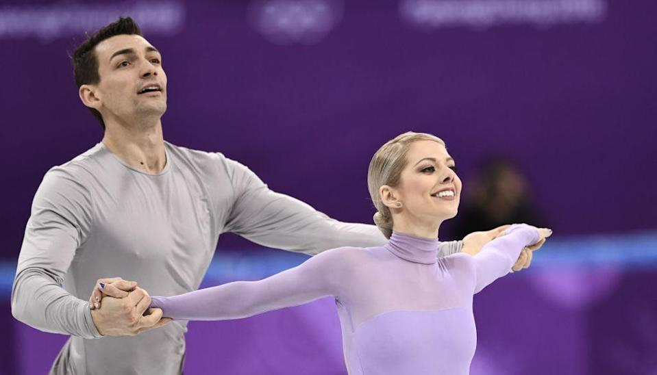 Married in 2016, Chris Knierim and Alexa Scimeca Knierim had a tough path to the 2018 Winter Olympics. (Getty)