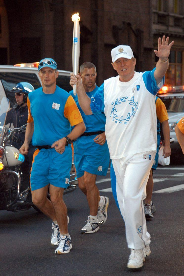 Image result for president trump in a jogging suit