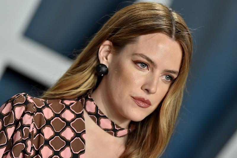 BEVERLY HILLS, CALIFORNIA - FEBRUARY 09: Riley Keough attends the 2020 Vanity Fair Oscar Party hosted by Radhika Jones at Wallis Annenberg Center for the Performing Arts on February 09, 2020 in Beverly Hills, California. (Photo by Axelle/Bauer-Griffin/FilmMagic)