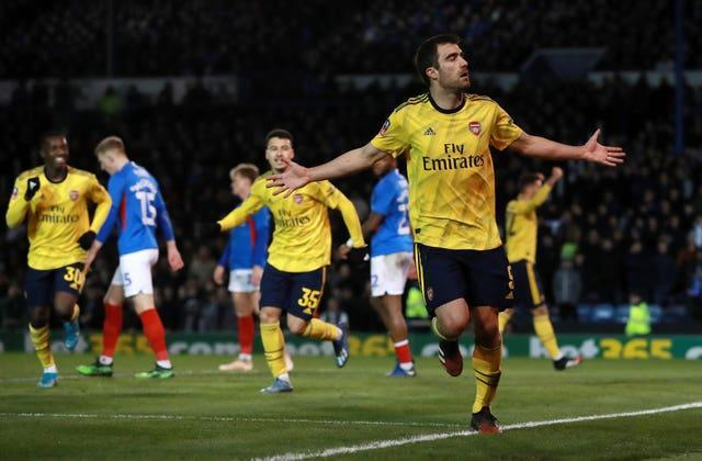 Sokratis has also had his contract ended early