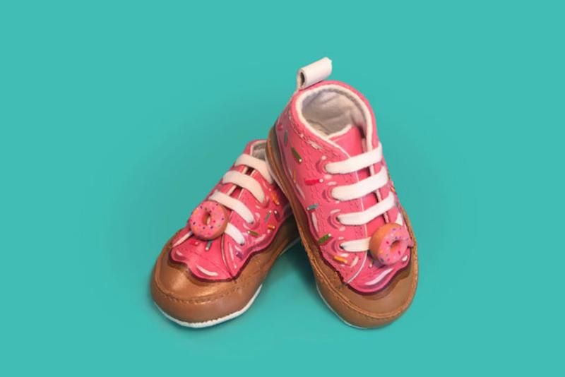 These Custom Donut Baby Sneakers Look Good Enough to Eat