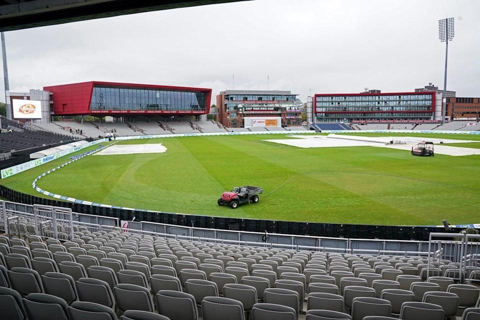 The Test match at Old Trafford has been cancelled (PA)
