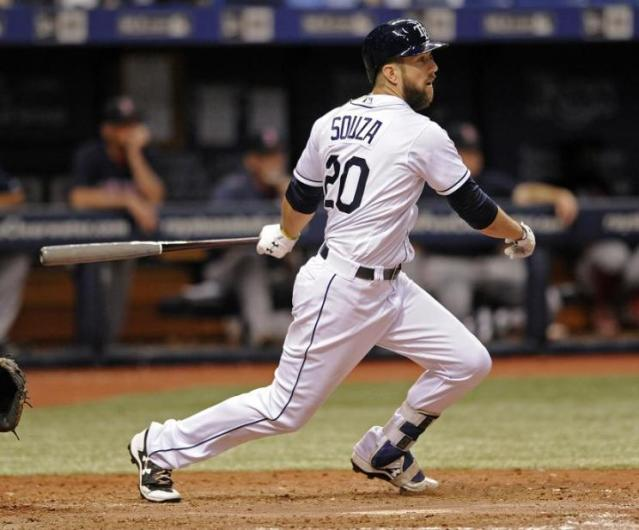 Steven Souza Jr. is the Diamondbacks' newest outfielder. (AP)