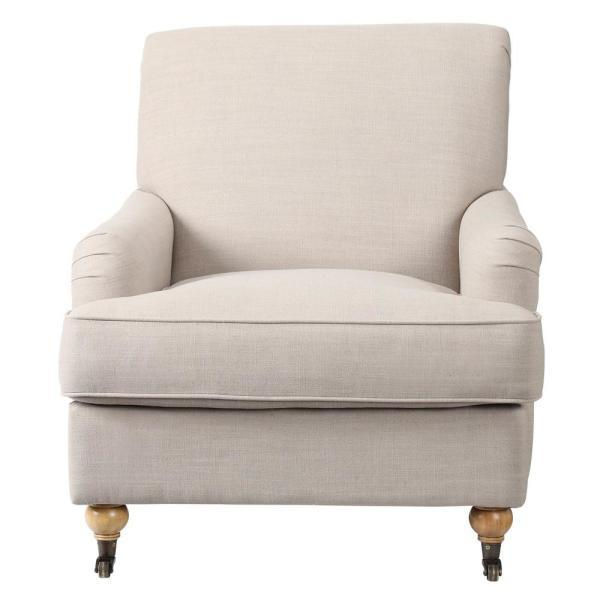 Home Decorators Collection Linen Arm Chair ('Multiple' Murder Victims Found in Calif. Home / 'Multiple' Murder Victims Found in Calif. Home)