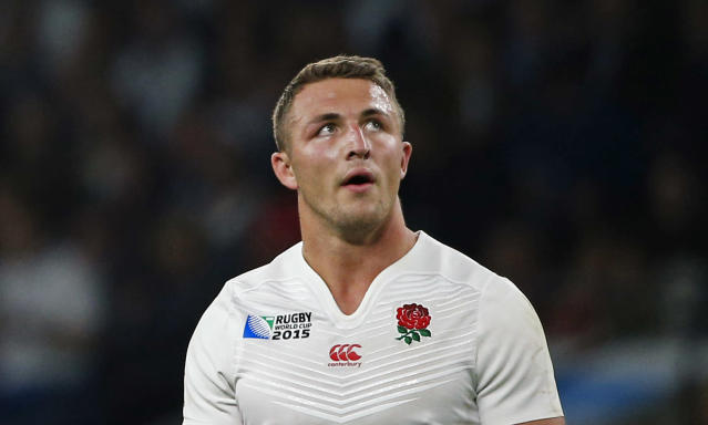 Burgess at the 2015 Rugby World Cup (Credit: Getty Images)