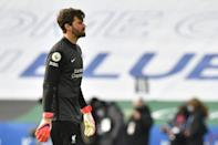 Liverpool goalkeeper Alisson Becker's errors have played a major part in three consecutive defeats