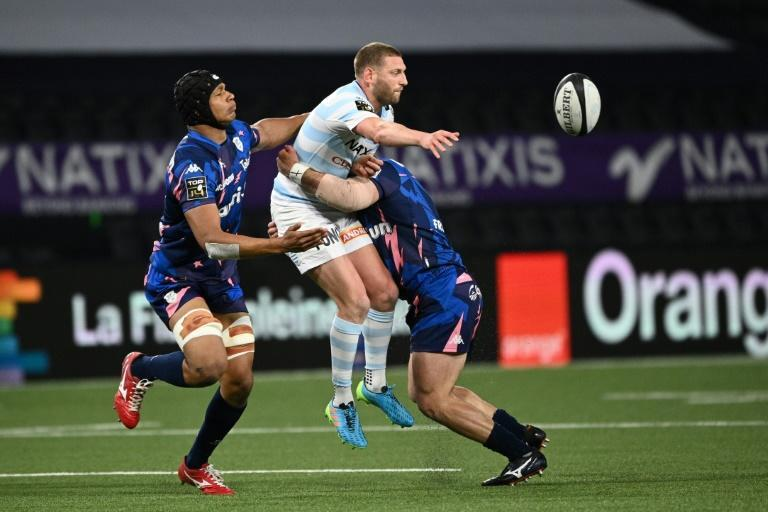 Finn Russell has made 56 Test appearances since his Scotland debut in 2014 (AFP/Anne-Christine POUJOULAT)