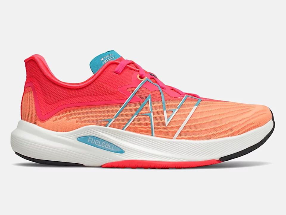 It's a brand that's always pushing for ways to enhance your trainingNew Balance