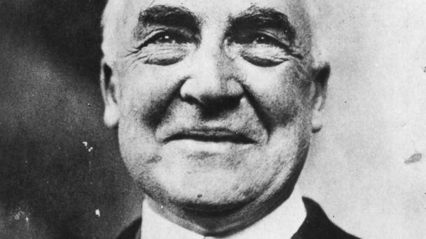 GTY warren harding blur h jt 140722 16x9 608 Hardings Love Notes to Mistress May Help His Image, Historians Say