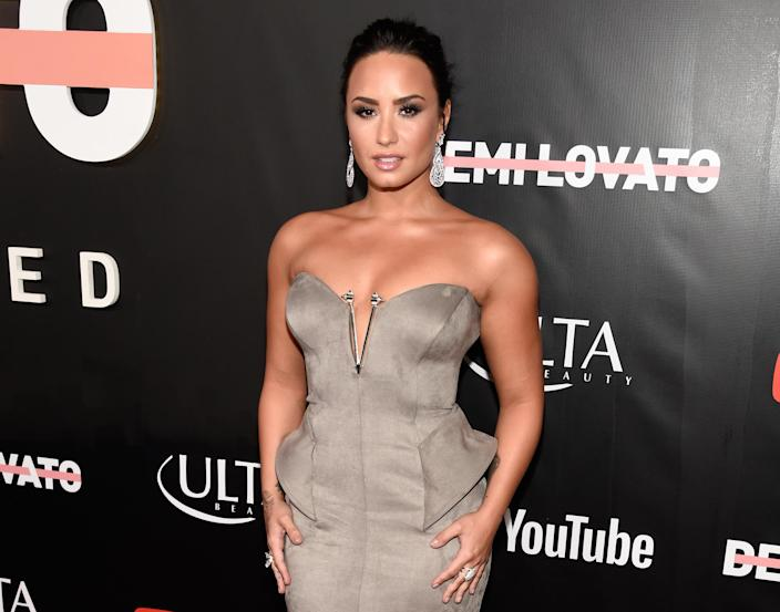Demi Lovato relapsed in 2012 (AP Photo)