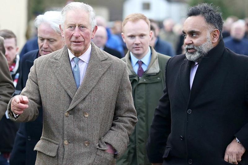 Prince Charles | Prince Charles, Prince Of Wales tours the village of Fishlake during a visit to South Yorkshire which was hit by floods earlier this year, on December 23, 2019 in Fishlake, South Yorkshire. A month's worth of rain fell in just 24 hours which left over 25 roads and 4 bridges closed and approximately 1,000 residential properties were flooded or became uninhabitable