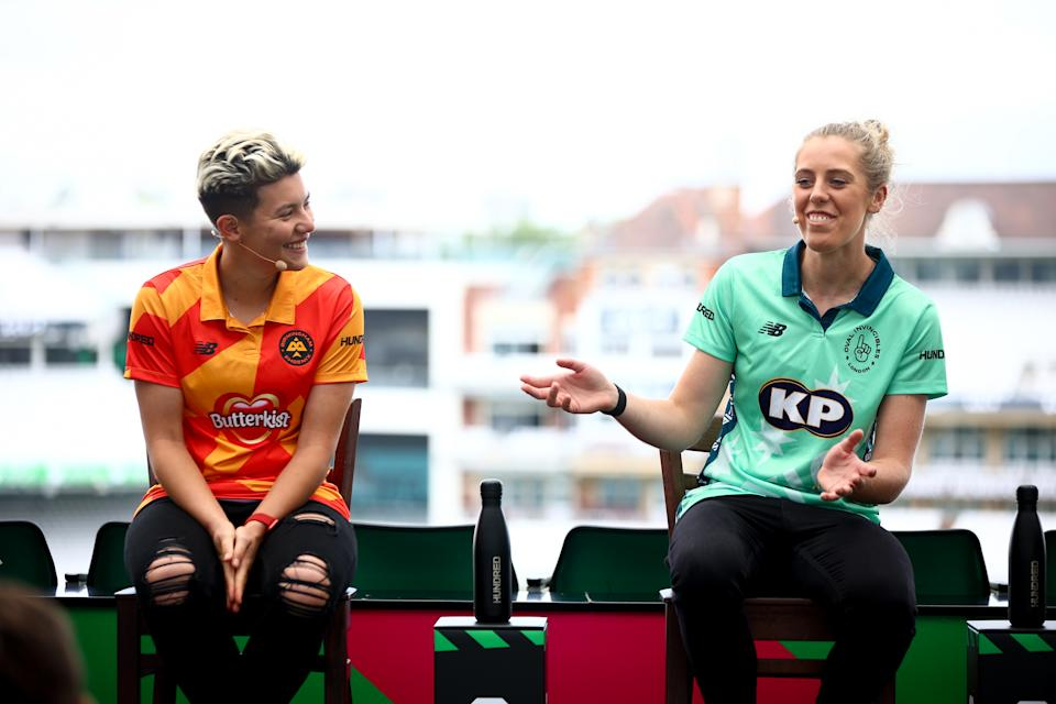 Chapman was joined on the ECB panel by the likes of Issy Wong and Georgia Adams