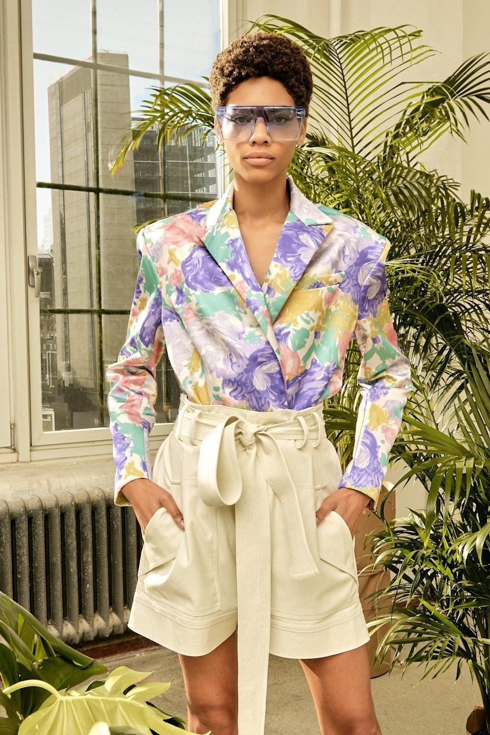 """<p>AMUR's philosophy is that """"mindful living will always be in style."""" The NYC-based brand only uses sustainably sourced fabrics. </p> <p><strong>What We'd Buy</strong>: <span>Amur Lisette Short</span> ($398)</p>"""