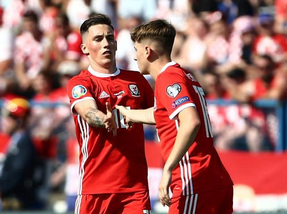 Harry Wilson is hoping to help Wales to Euro 2020 (Reuters)