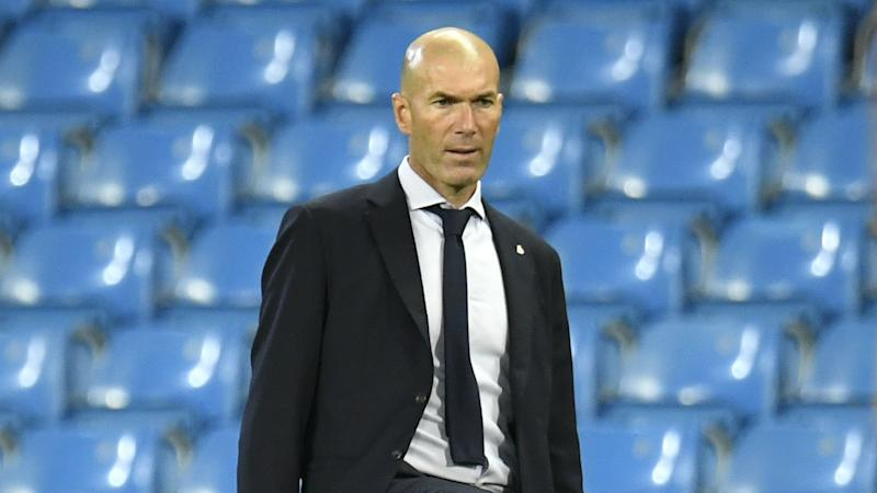Zidane not going to ask for a striker despite Madrid goal woes