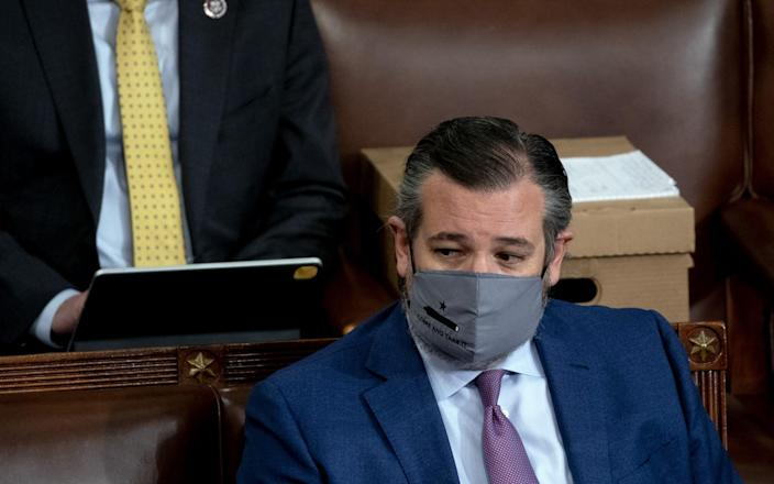 Ted Cruz, a presidential hopeful for 2024, called for protesters to be prosecuted but himself objected to the certification of the vote - Bloomberg