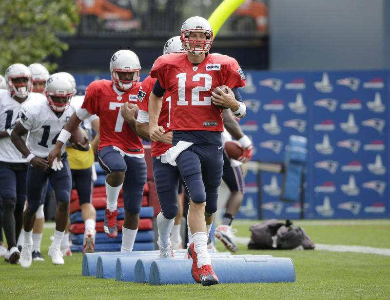 Tom Brady is trying to improve upon his fantastic 2016 season. (AP)