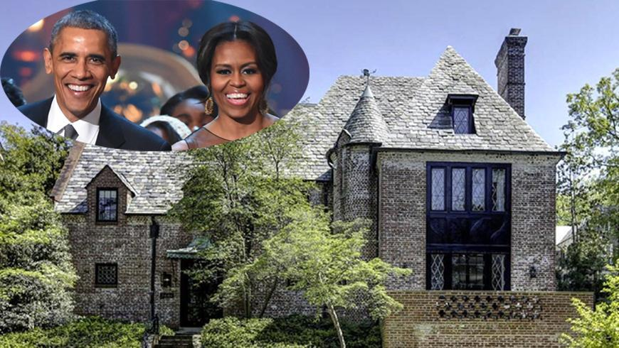This Is Where The Obamas Will Live After Leaving The White House