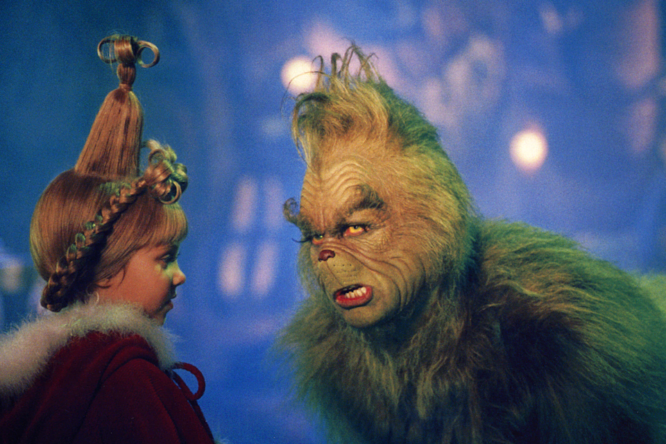"""<em><strong><h3>Dr. Seuss' How the Grinch Stole Christmas</h3></strong></em><strong><h3>, 2000<br></h3></strong><br>Look this isn't a good movie. But it's always there when you need a holiday movie pick-me-up! And there's baby Taylor Momsen as a Who!<br><br><strong>Watch On: </strong>HBO Go<span class=""""copyright"""">Photo: Ron Batzdorff/Imagine Ent/REX/Shutterstock.</span>"""