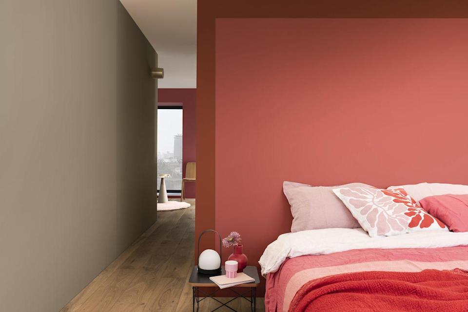 <p>When it comes to creating a feature, the temptation can be to make a statement with shelving or framed pictures to inject personality into your room. But a plain coloured feature wall can be just as much of a statement as one loaded with things to look at. According to 41 per cent of top posts, sometimes less is more.</p>