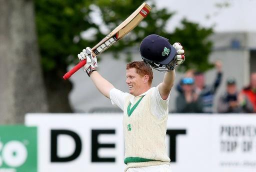 Ireland's first day of Test cricket starts and ends with a bang