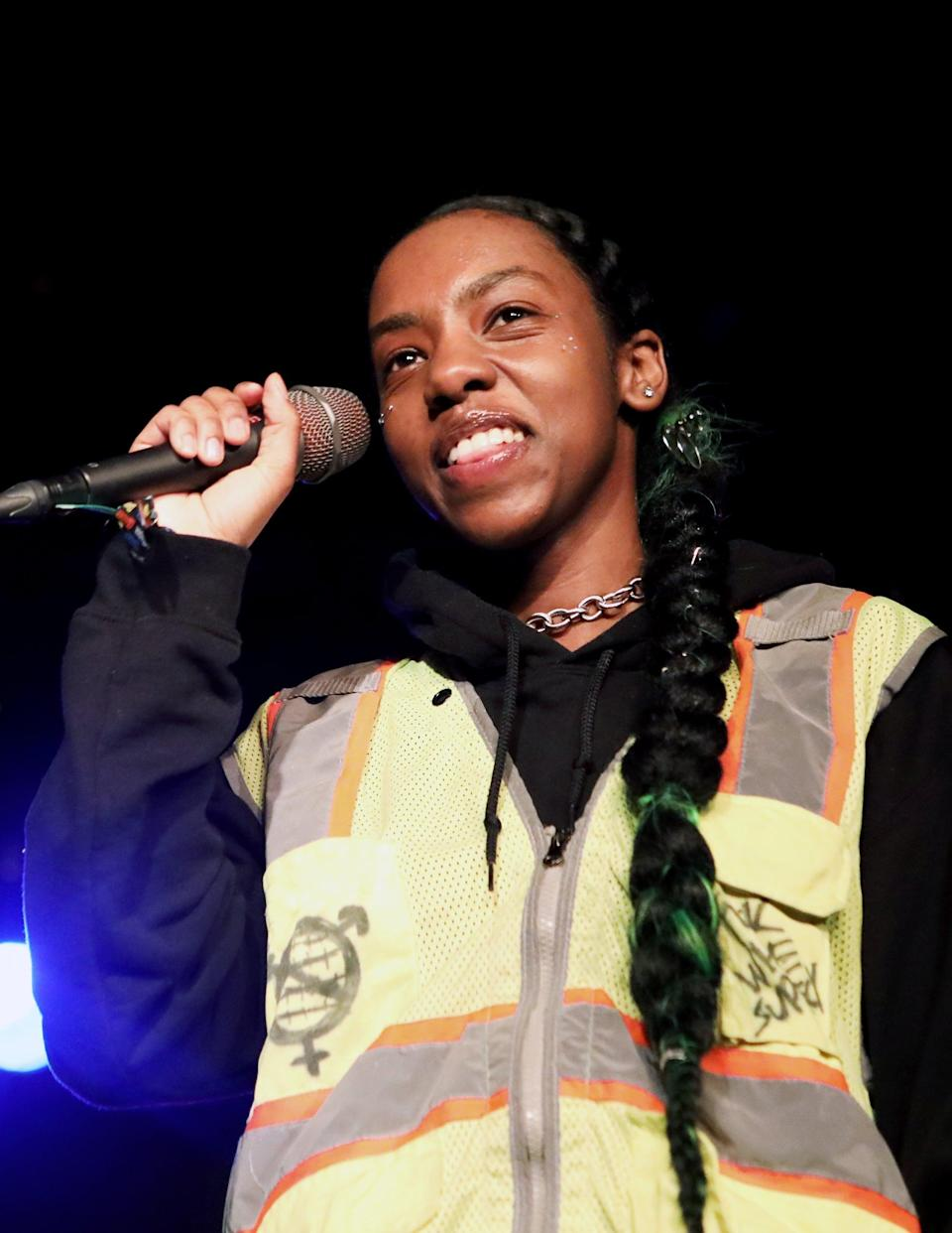 <p>Saleh, a singer-songwriter, will join the cast in season three as Cal, a nonbinary student who clashes with the new headmistress at Moordale.</p>