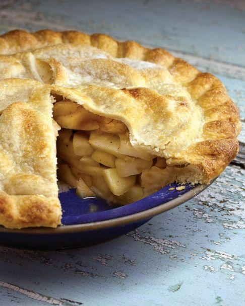 PHOTO: Cookbook author and food editor Amy Traverso's Blue Ribbon Deep-Dish Apple Pie. (Squire Fox)