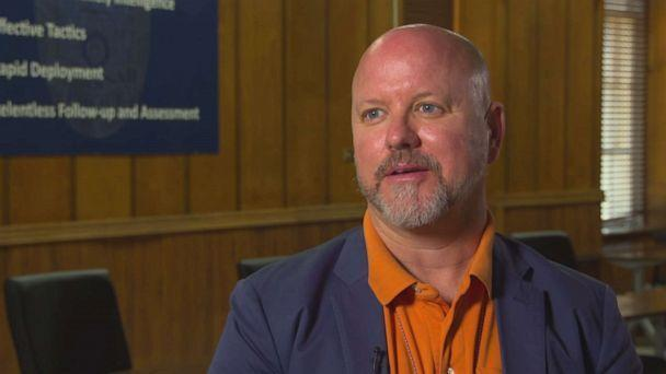 PHOTO: Det. Patrick Skinner of the Savannah Police Department in Georgia says he's been working to change police mindsets for years.  (ABC News )