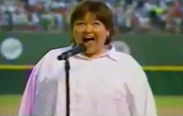 Roseanne was heavily criticised herself for her attempt at the song back in 1990. Source: ESPN