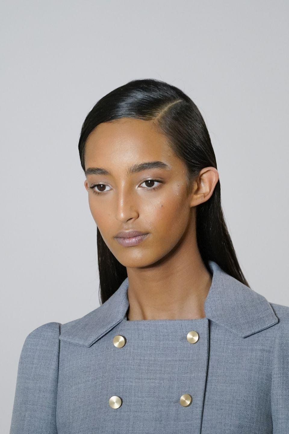 <p>Likewise, models at Loewe walked the runways with softly brushed arches. Think fluffy, not filled.</p>