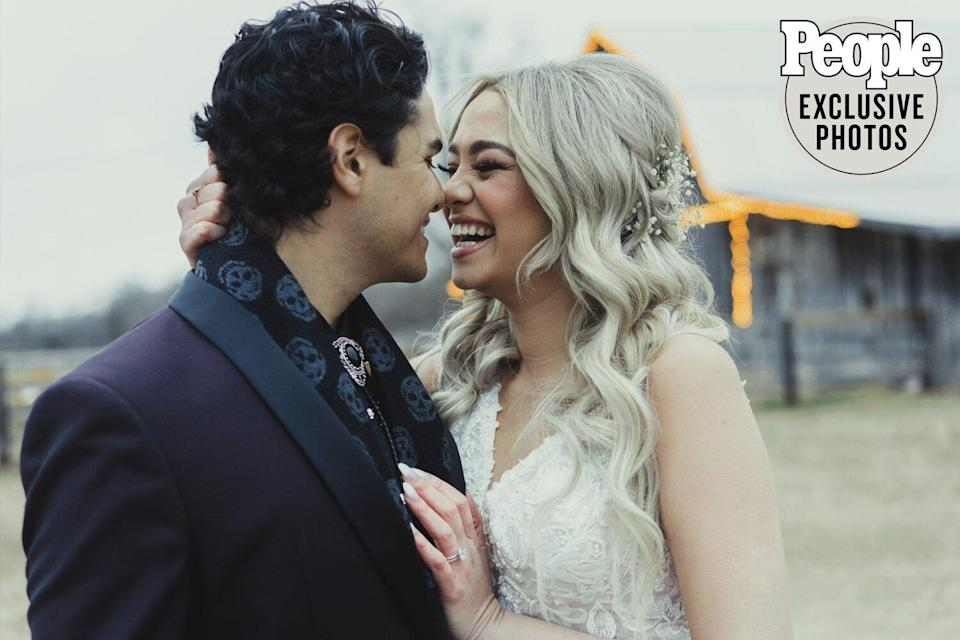 American Idol 's Kat and Alex Tie the Knot in Intimate 'Dream' Wedding — See the Photos!