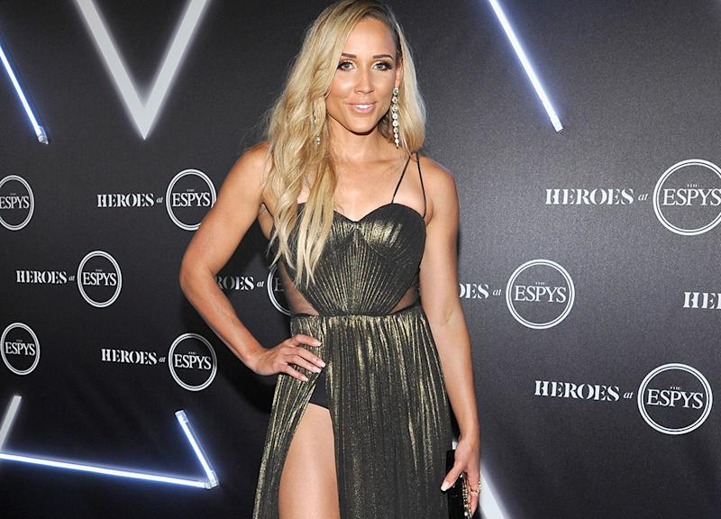 Lolo Jones, pictured here at the HEROES at The ESPYS in 2018.
