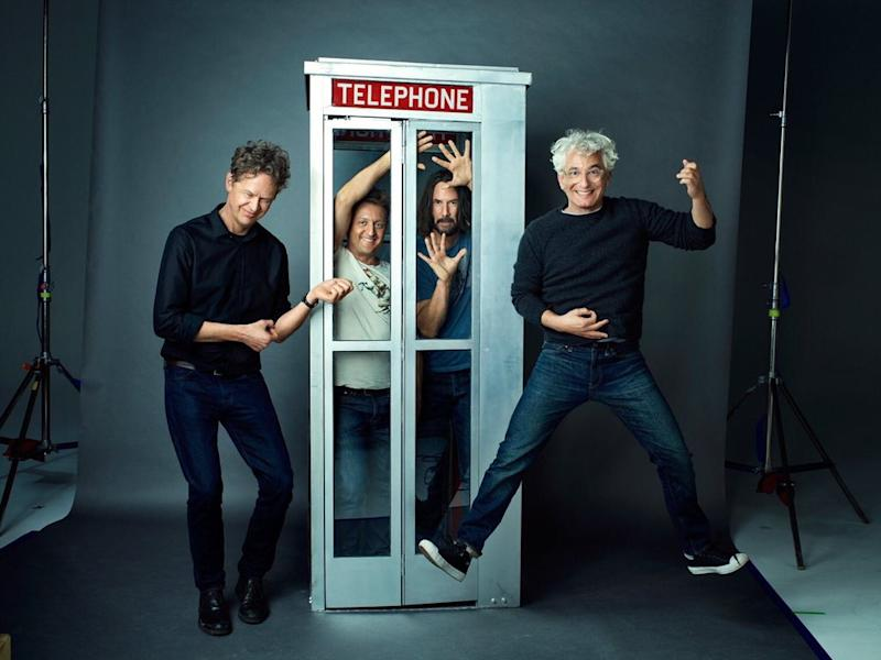 Ed Solomon celebrates Bill & Ted Face The Music with new image