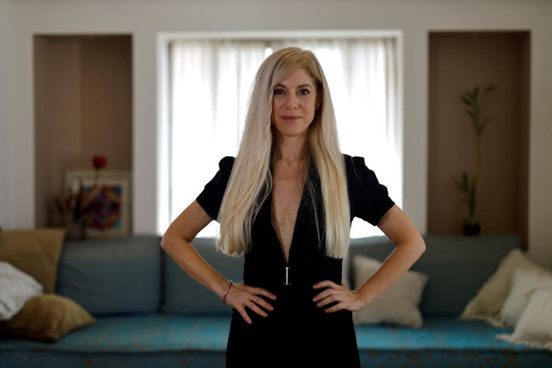 """Flat and fierce"": Israel breast cancer survivor celebrates scars topless"