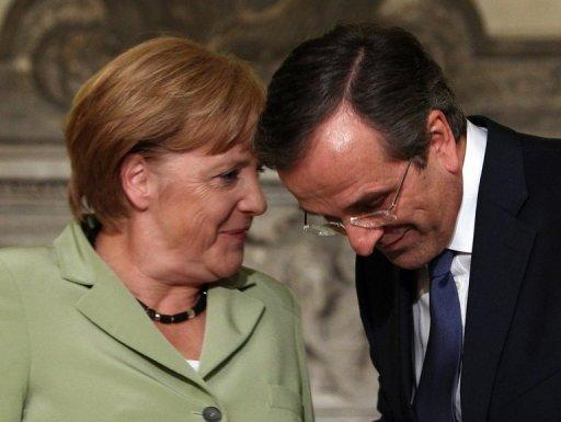 Merkel doesn't rule out Greek 'haircut' from 2014