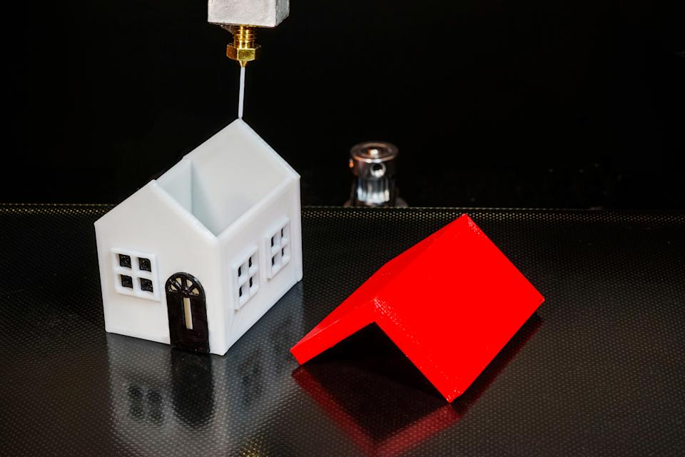 House made with 3D printer