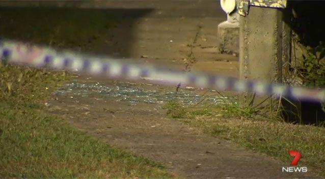 Police have established a crime scene at Ms Baker's house where the stabbing occurred. Source: 7 News.