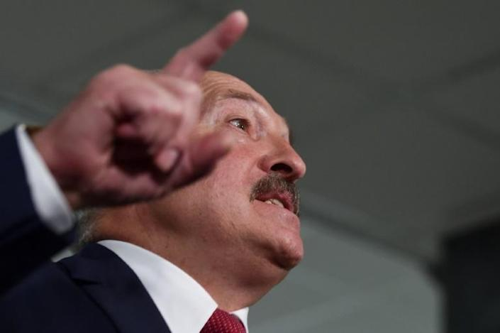Alexander Lukashenko has been president of Belarus for 26 years (AFP Photo/Sergei GAPON )