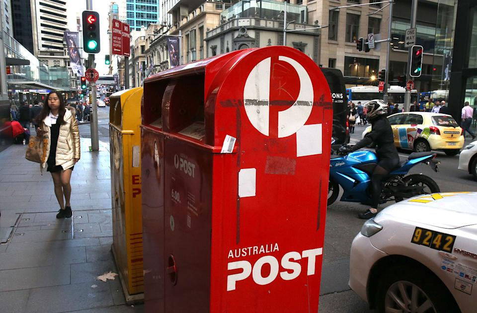 Australia Post is delivering millions of parcels across the country every day. Source: AAP