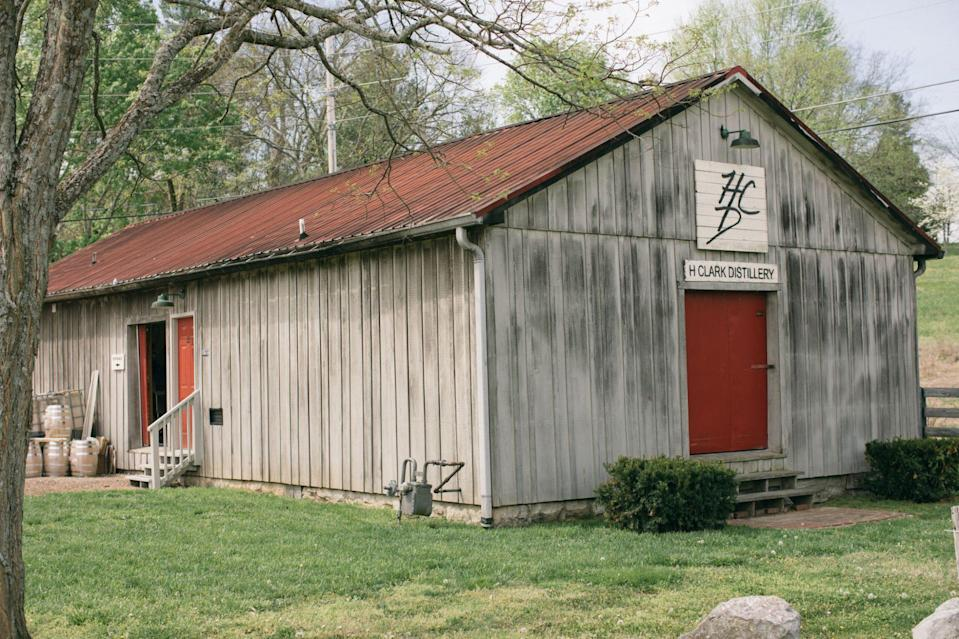"""<p><strong> Thompson's Station, Tennessee</strong></p> <p>Heath Clark first experimented with making gin in college, but as passionate as he was about spirits, he chose to pursue a career as an attorney. Today, he has his cake and eats it, too, running his law office in a room tucked away inside <a href=""""https://hclarkdistillery.com/home/"""" rel=""""nofollow noopener"""" target=""""_blank"""" data-ylk=""""slk:H. Clark Distillery"""" class=""""link rapid-noclick-resp"""">H. Clark Distillery</a>. All their spirits are hand-crafted with care in small batches. Although they do produce whiskeys, they are best known for their high-quality gins.</p>"""